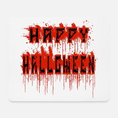 Bloody halloween bloody - Mouse Pad
