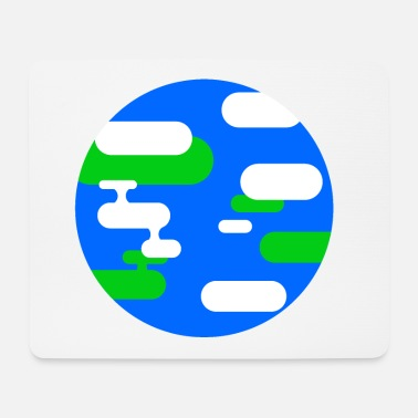 Illustration Earth illustration - Mouse Pad