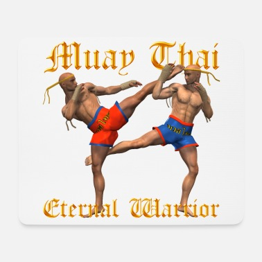 Guerriers muay thai - Tapis de souris