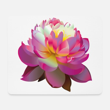 Beautiful Pink Lotus Flower - Mouse Pad
