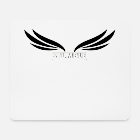 Stumble Mouse Pads - Stumble Brand - Mouse Pad white