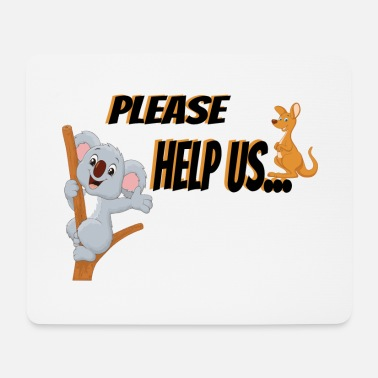 Animal Rights Activists Animal rights activist Koala - Mouse Pad