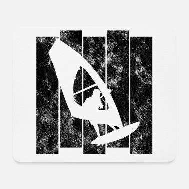 Wind Surfen Retro Windsurfer Windsurfen Windsurfing - Mousepad