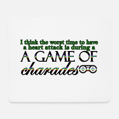 Charade Game of Charades 53 G - Mouse Pad