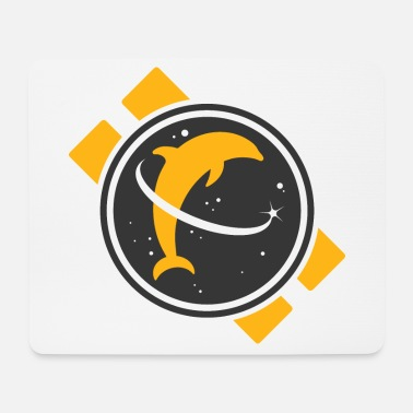 Space Dolphin - Mouse Pad