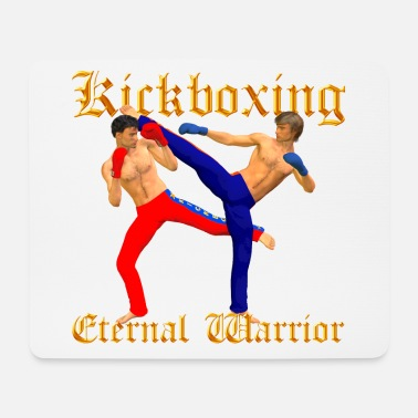 Kickboxing Guerrier - Tapis de souris