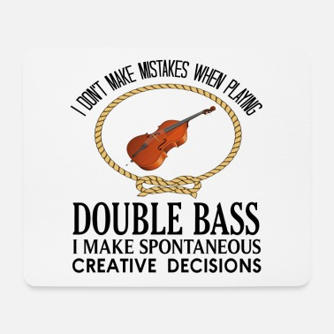 Bass Double bass - Mouse Pad