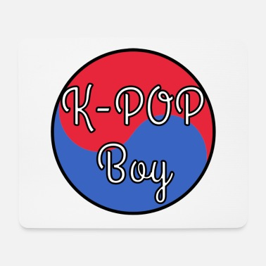 Ice K POP Boy - Mouse Pad