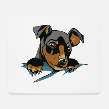 Dog Friend Dog In Pocket - Dog - Dog friend best friend - Mouse Pad