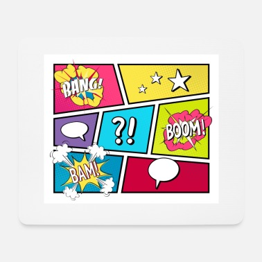 Comic COMIC STRIP Pop Art - Mouse Pad
