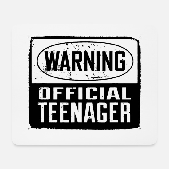 Teenager Mousepads  - Teenager - Mousepad Weiß