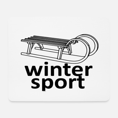 Winter Sports winter sports - Mouse Pad