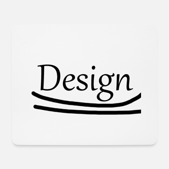 Design Mouse Pads - design - Mouse Pad white