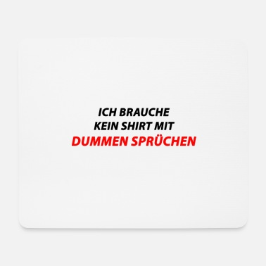 Schmo Funny saying - Mouse Pad
