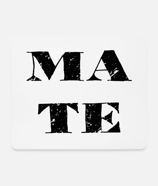 Mateo Mouse Pads - Soul Mate Soul Mate Couple Man Woman Lake - Mouse Pad white