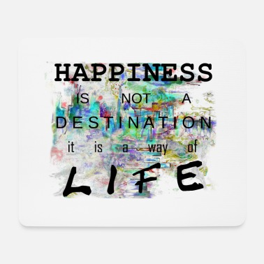 Happiness happy8d Happiness happiness is a lifestyle happy - Mouse Pad