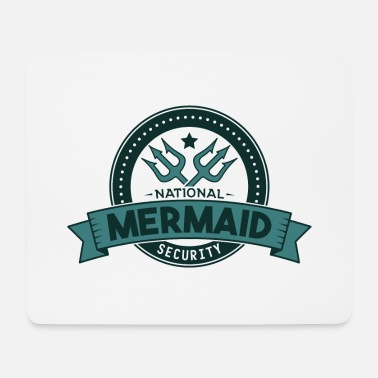 National National Mermaid Security Gift - Mousepad (bredformat)