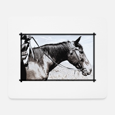 Western Riding Western riding - Mouse Pad