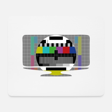 Television Test Television - Mouse Pad