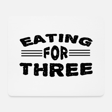 eating for three - Mousepad