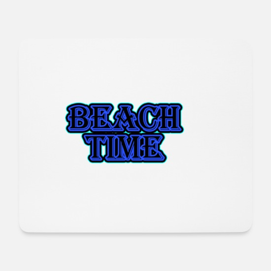 Gift Idea Mouse Pads - Beach Time - Mouse Pad white