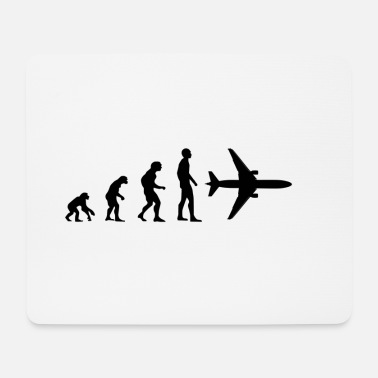 Irresponsible Evolution, development, aircraft. - Mouse Pad
