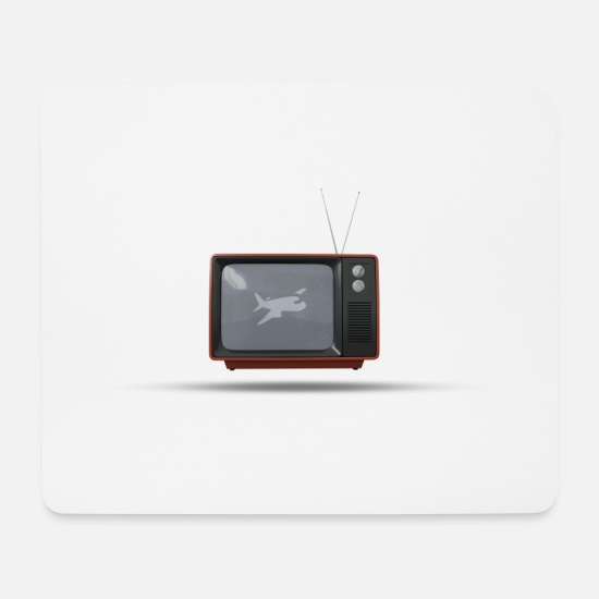 Hollywood Mouse Pads - TV - Mouse Pad white