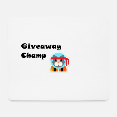 Champ Giveaway Champ - Tappetino per mouse (orizzontale)