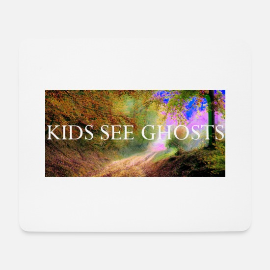 Kid Mousepads  - KIDS SEE GHOSTS kid kanye - Mousepad Weiß