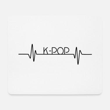 K POP Heartbeat KPOP Heartbeat Love for music - Mouse Pad