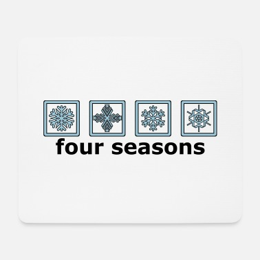 Pictograph The 4 winter times - Mouse Pad
