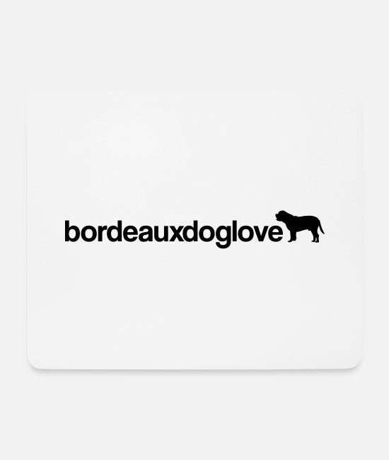 Obedience Mouse Pads - bordeauxdoglove - Mouse Pad white