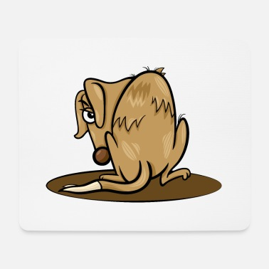 Homeless Homeless dog - Mouse Pad