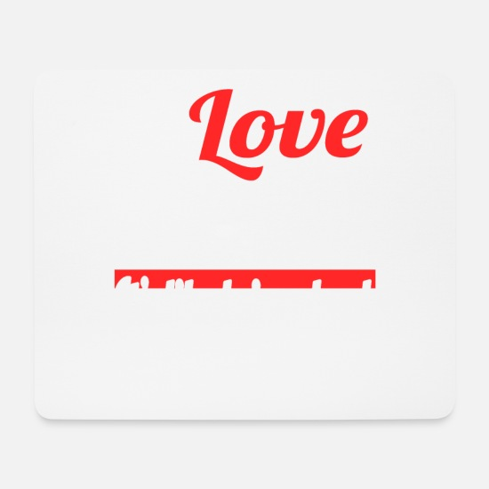 Love Mouse Pads - I Love Sleeping It's Like Being Dead Without The - Mouse Pad white