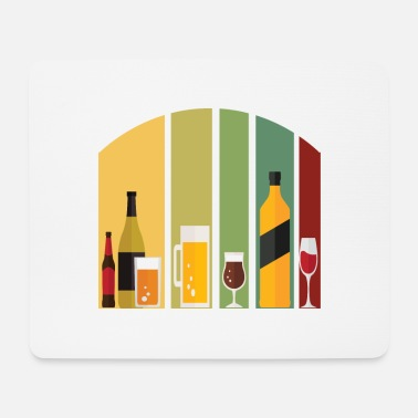 Wheat Alcohol Tee For Alcoholic Celebrate Diversity - Mouse Pad