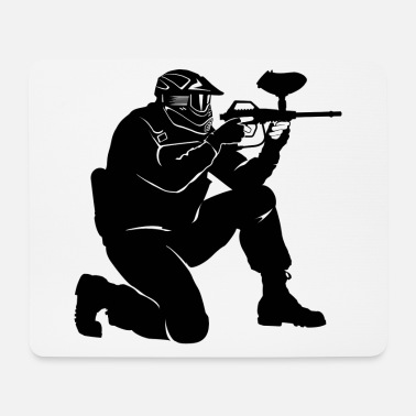 Paintball Paintball - Mouse Pad