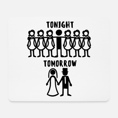 Wedding Party Bachelor Party Wedding Shower Wedding Party - Mouse Pad