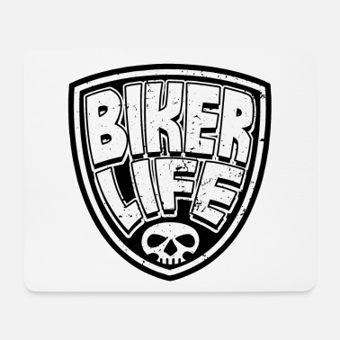 Moto Bikers Motorcycles Motorcycles Motocyclistes Statement - Tapis de souris