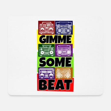 Turn On Hip Hop Beat Deutschrap Breakdance DJ Graffiti MC - Mouse Pad