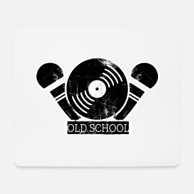 Rap Old School Rap I Old School Hip Hop - Mouse Pad