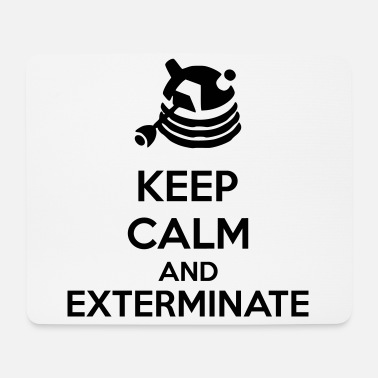 Keep Calm Keep Calm And Exterminate - Tappetino per mouse (orizzontale)