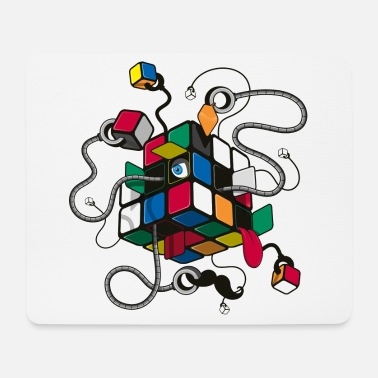 Rubik's Cube Robot Style - Tappetino mouse