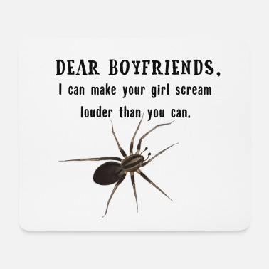 Shouter Spinne - Spider girls shout - Mousepad