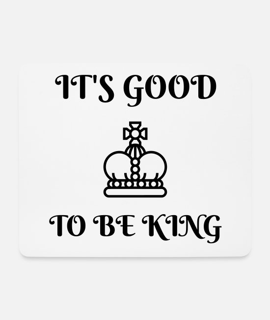Coronation Mouse Pads - Monarch monarchy king kingdom - Mouse Pad white