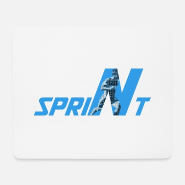 Sprinting sprint - Mouse Pad