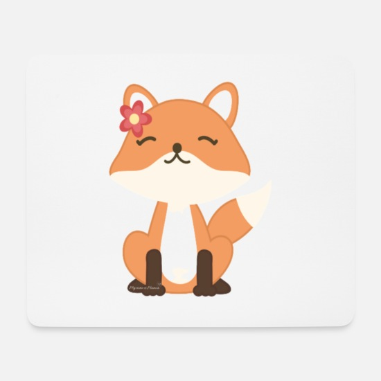 Wife Mouse Pads - Renard girl collection - Mouse Pad white