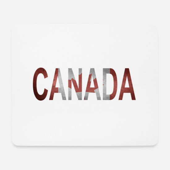 National Mousepads  - Kanada - Mousepad Weiß