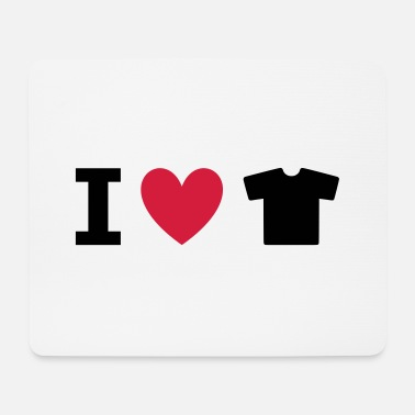 Fashion Underwear ★ Design colors changeable ★ I love t-shirts - Mouse Pad