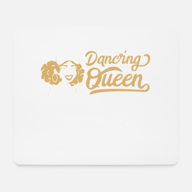 Funky Dancing Queen Dance Hip Hop Retro Disco Gave - Mousepad (bredformat)