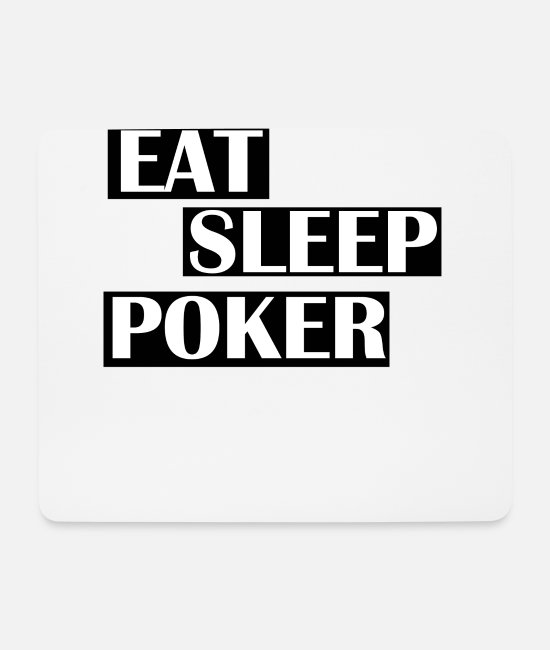 Poker Mouse Pads - poker - Mouse Pad white